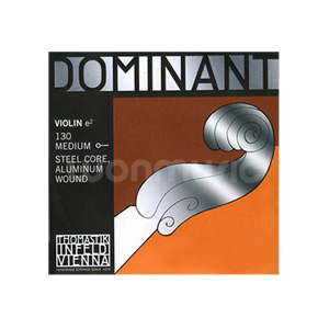 [THOMASTIK INFELD VIENNA]토마스틱인펠드비엔나 도미넌트(DOMINANT) 바이올린 낱줄 E선 / STEEL CORE,ALUMINUM,WOUND